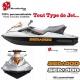 Sticker Seadoo coque Jet Ski