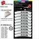 Pochette Sticker Jante Excel Tagasago Rims