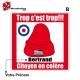 Sticker bonnet rouge citoyen