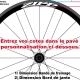 Sticker Zipp jante vélo dimension personnalisable