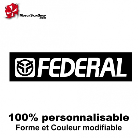 Sticker vélo Fédéral BMX