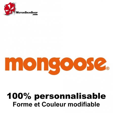 Sticker vélo Mongoose BMX