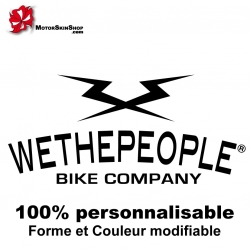 Sticker Wethepeople BMX