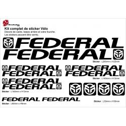 Sticker cadre BMX Federal