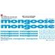 Sticker Kit cadre BMX Mongoose Taille XXl