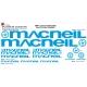 Sticker Kit cadre BMX Macneil Taille XXl