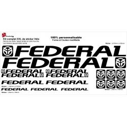 Sticker cadre Federal BMX Taille XXl