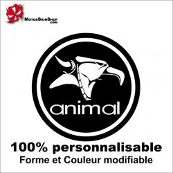 Sticker Animal BMX