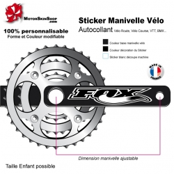 Sticker Manivelle Vélo Fox
