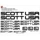 Sticker cadre Scott USA Vélo