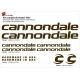 Sticker cadre vélo Kit Cannondale