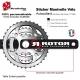 Sticker Manivelle Vélo Rotor