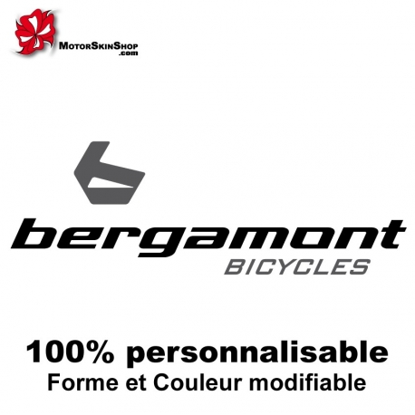 Sticker Bergamont Bycicles Dirt