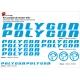 Sticker cadre Polygon