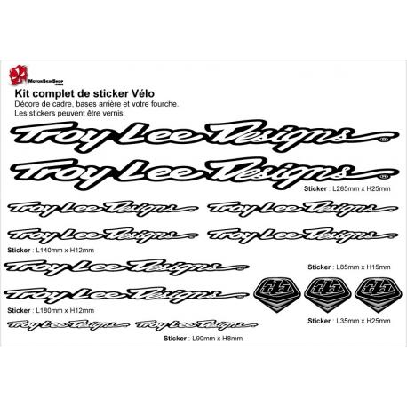 Sticker cadre Troy Lee Design