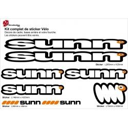 Sticker cadre Sunn
