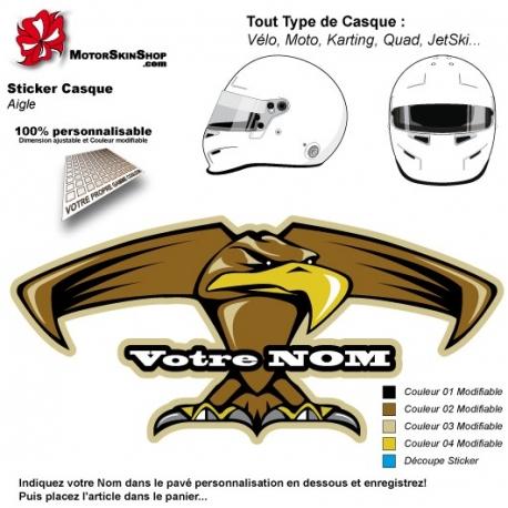Sticker Décoration Casque Aigle