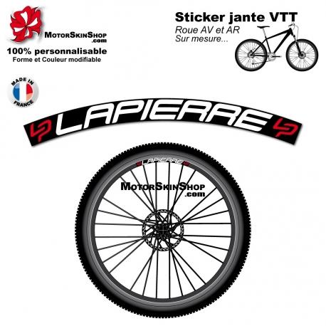 Sticker jante VTT Lapierre