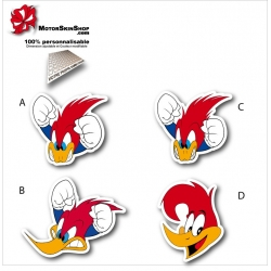 Sticker Woody Woodpecker