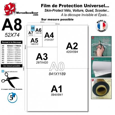 Film de Protection Universel Vélo, Moto, Voiture