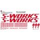 Sticker cadre S Works Specialized Taille XXl