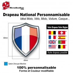 Sticker Drapeau national France