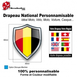 Sticker Drapeau national allemand