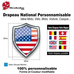 Sticker Drapeau national Américain