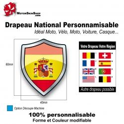 Sticker Drapeau national Espagne