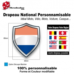 Sticker Drapeau national Pays Bas