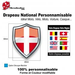 Sticker Drapeau Savoie