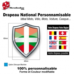 Sticker Drapeau Basque
