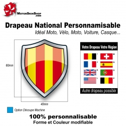 Sticker Drapeau Provence