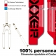 Sticker fourche Neon Boxxer Rouge 2012 Factory