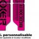 Sticker fourche Neon Boxxer Rose 2012 Factory