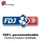 Sticker FDJ vélo