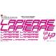 Sticker cadre Lapierre vélo XXL