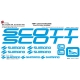Sticker vélo Scott Shimano Campagnolo XXL