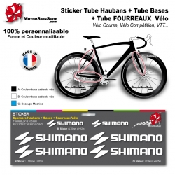 Planche Sticker Shimano Hauban Base Fourreau