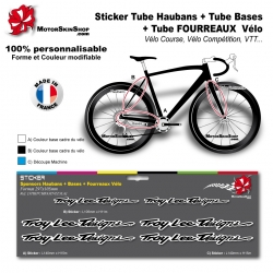 Planche Sticker Troy lee Designs Hauban Base Fourreau