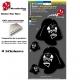 Planche Sticker casque Star Wars