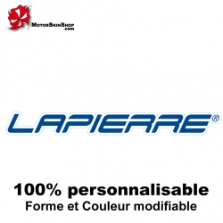 Sticker vélo Lapierre autocollant décoration