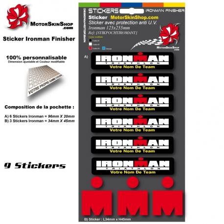 Sticker Iroman Team