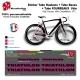 Planche Sticker Triathlon Hauban Base Fourreau