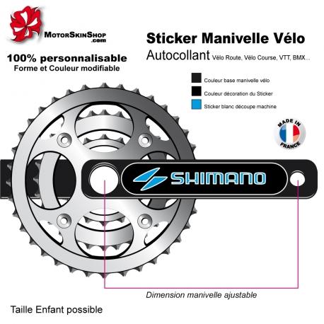 Sticker Manivelle Vélo Shimano