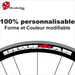 Sticker jante vélo ironman
