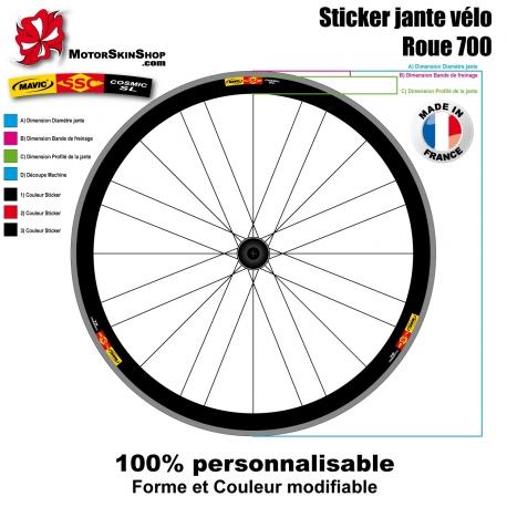Sticker jante Mavic SSC Cosmic SL