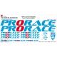 Sticker cadre Prorace vélo XXL