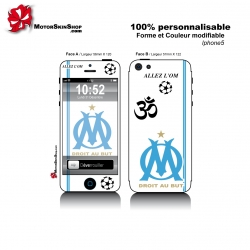 Sticker iPhone 5 OM Olympique Marseille