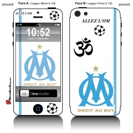 Sticker iPhone 5 OM Olympique Marseille